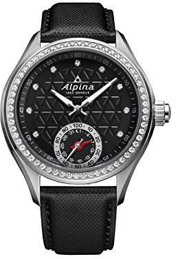 Alpina Women's 'HOROLOGICAL SMART' Quartz Stainless Steel and Rubber Casual Watch