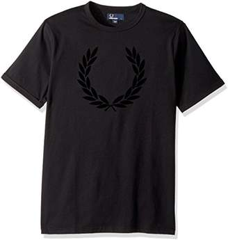 Fred Perry Men's Textured Laurel Wreath T-Shirt