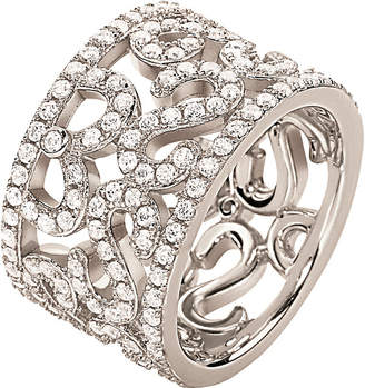Folli Follie Fashionably silver lace ring