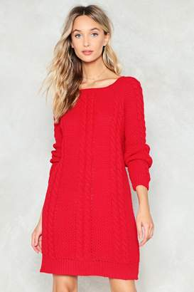 Nasty Gal Tell Me About Knit Dress