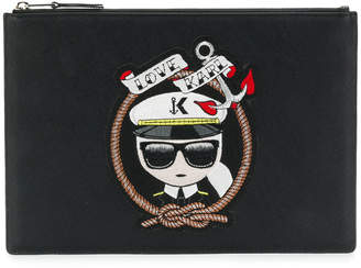 Karl Lagerfeld Captain pouch