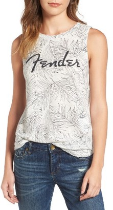 Women's Lucky Brand Fender Print Tank $39.50 thestylecure.com