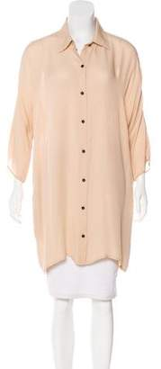 Jenni Kayne Silk Button-Up Tunic