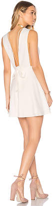 MAJORELLE Make a Toast Dress in Ivory $178 thestylecure.com
