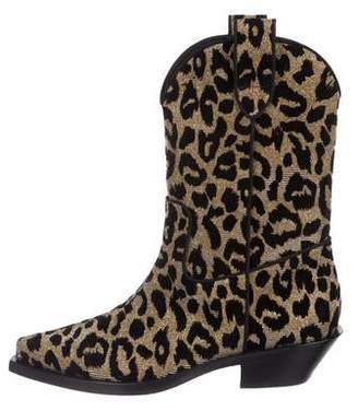 Dolce & Gabbana Mid-Calf Cowboy Boots