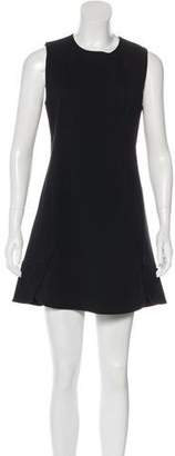 Alexander Wang Button-Accented Mini Dress