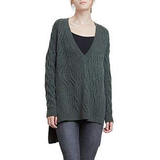 Kenneth Cole New York Kenneth Cole Women's Irregular Cable Tunic Sweater