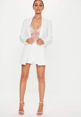 8568dce19bf2 White Tailored Shorts - ShopStyle UK