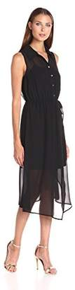 Kensie Women's Crepe Chiffon Dress $15.29 thestylecure.com