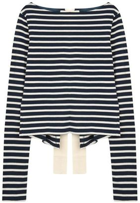 La Mariniere - Navy & White Stripes
