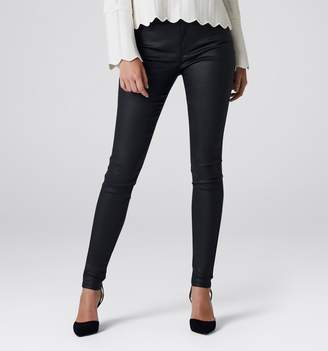Ivy Petite Mid Rise Full Length Skinny Jeans
