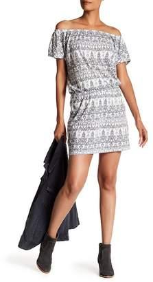 Soft Joie Danyale Off-the-Shoulder Print Dress