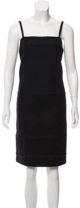 Prada Wool Sleeveless Dress