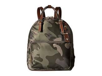 03ec33b1c8 Tommy Hilfiger Julia Double Handle Solid Nylon Backpack