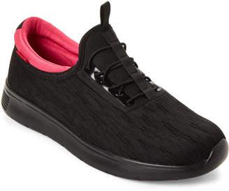 Levi's Black & Fuchsia Sunset Fly Sneakers