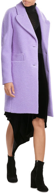 CarvenCarven Coat with Virgin Wool