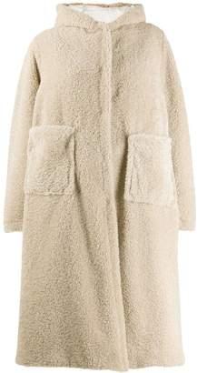 Forte Forte hooded oversized coat