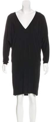 Haute Hippie Knee-Length Long Sleeve Dress