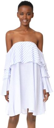 MLM LABEL Mesa Off Shoulder Dress $198 thestylecure.com