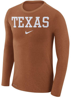 Nike Men's Texas Longhorns Marled Long Sleeve T-Shirt