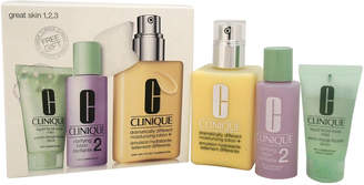 Clinique 3Pc Great Skin Three-Step Skin Care System
