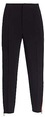 Alexander McQueen Men's Cropped Cotton Trousers
