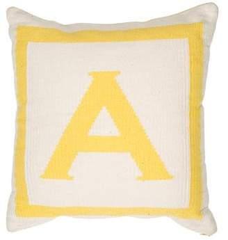 Jonathan Adler Letter Patterned Throw Pillow