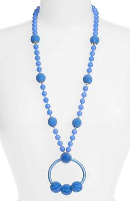 Kate Spade The Bead Goes On Pendant Necklace