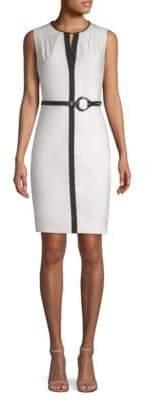 Elie Tahari Volumnia Belted Dress