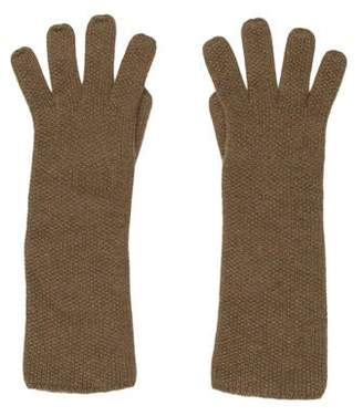 Loro Piana Textured Cashmere Gloves