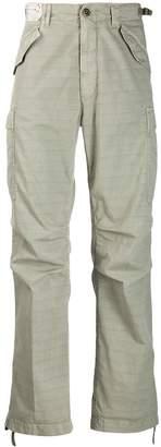 Incotex classic cargo trousers