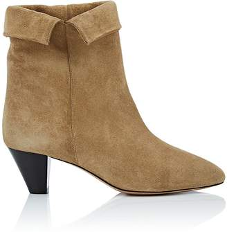 Isabel Marant Women's Dyna Suede Ankle Boots