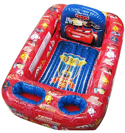 Ginsey Disney Cars Inflatable Safety Bathtub