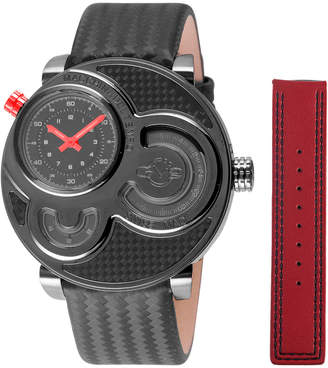 Gevril Men's Macchina Del Tempo Watch With Interchangeable Strap