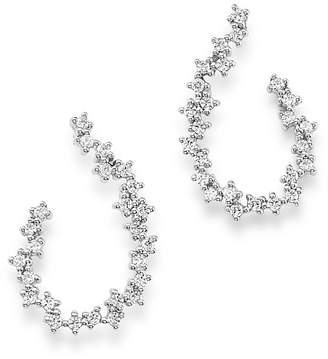 Bloomingdale's Diamond Front-Back Earrings in 14K White Gold, 0.50 ct. t.w. - 100% Exclusive