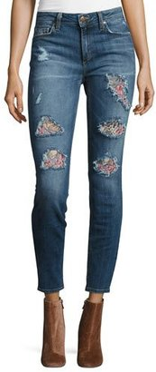Joe's Jeans The Icon Mid-Rise Skinny Ankle Jeans, Delana $245 thestylecure.com