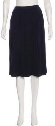Tibi Knit Knee-Length Skirt