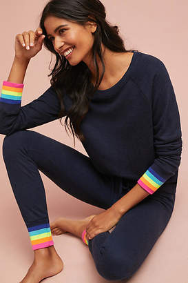 Sundry Rainbow-Trimmed Sweatpants