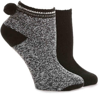 Mix No. 6 Pom Ankle Socks - 2 Pack - Women's