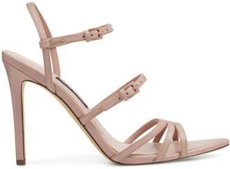 Nine West Trip 1 Gilficco Leather Ankle-Strap Sandals