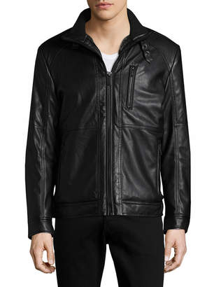 Karl Lagerfeld Convertible Collar Jacket