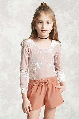 Forever 21 Girls Corduroy Shorts (Kids)