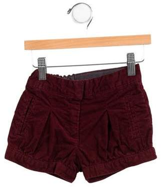 Stella McCartney Girls' Corduroy Mini Shorts
