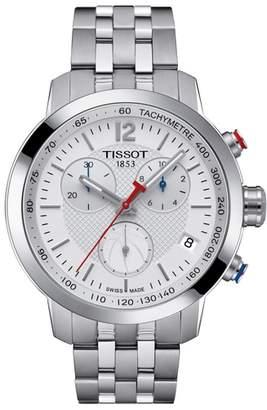 Tissot PRC200 Chronograph NBA Bracelet Watch, 41mm