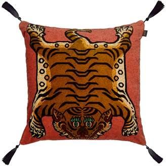House Of Hackney Large Saber Cotton Velvet Accent Pillow