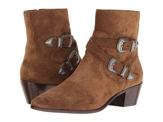 Frye Ellen Buckle Short Women's Boots