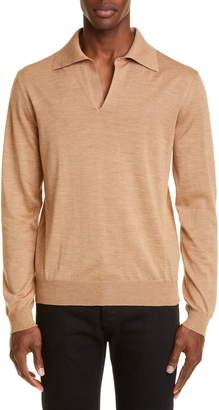 Maison Margiela Wool Polo Sweater