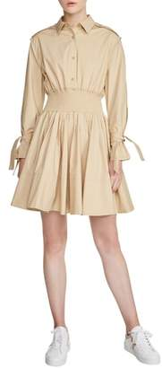 Maje Ralix Shirtdress