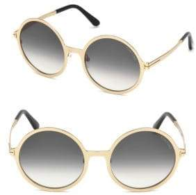 Tom Ford Ava Round Sunglasses