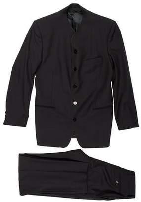 Kenzo Mandarin Wool Suit